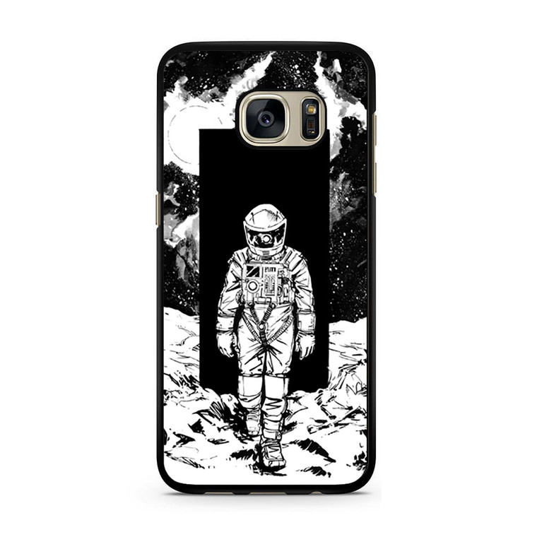 A Space Odyssey 2001 Drawing Samsung Galaxy S7/S7 Edge Case