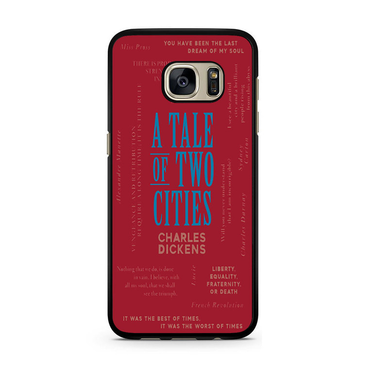 A Tale Of Two Cities By Charles Dickens Samsung Galaxy S7/S7 Edge Case