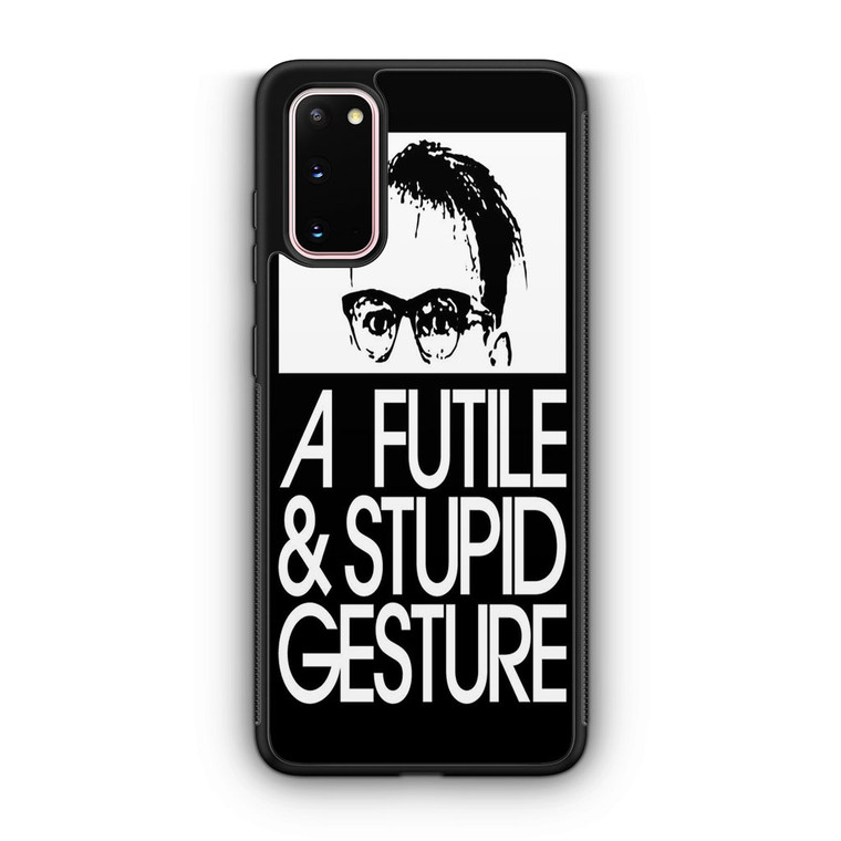 A Futile And Stupid Gesture Movie Samsung Galaxy S20/S20 Plus/S20 Ultra Case