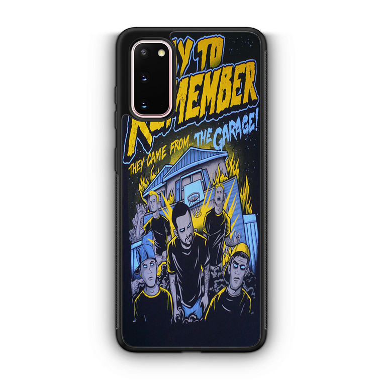 A Day To Remember They Came From The Garage Samsung Galaxy S20/S20 Plus/S20 Ultra Case