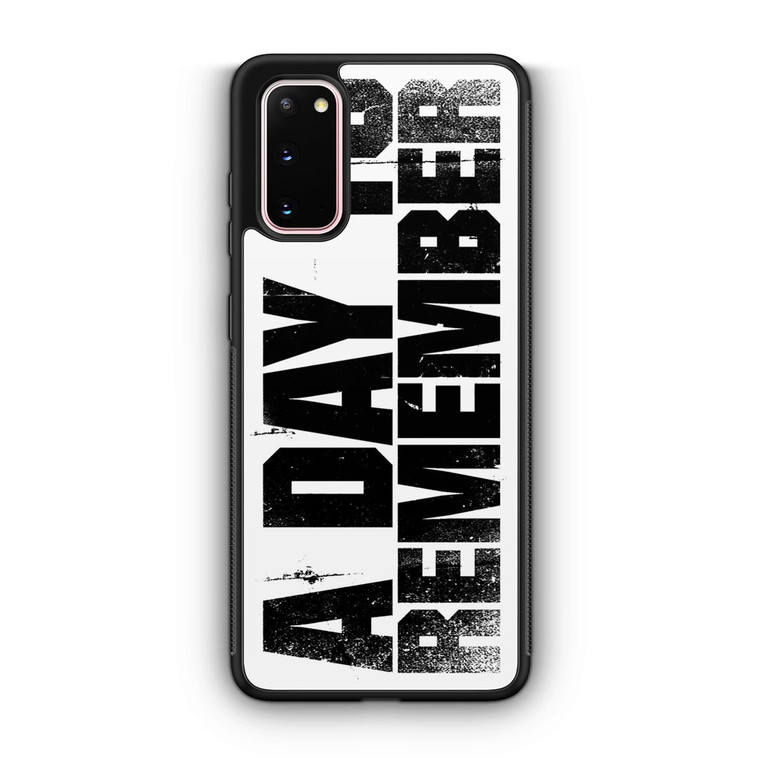 A Day To Remember Samsung Galaxy S20/S20 Plus/S20 Ultra Case