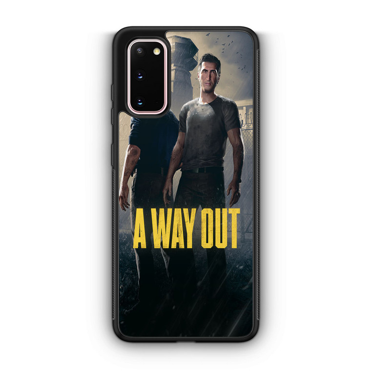 A Way Out Games Samsung Galaxy S20/S20 Plus/S20 Ultra Case