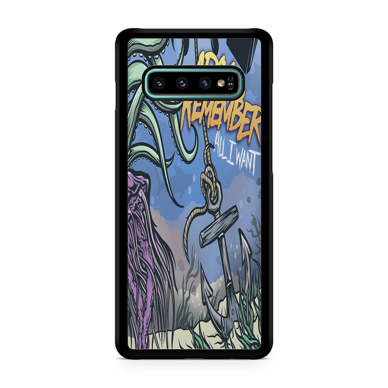 A Day To Remember All I Want Galaxy S10/5G/S10 Plus/S10E/lite Case