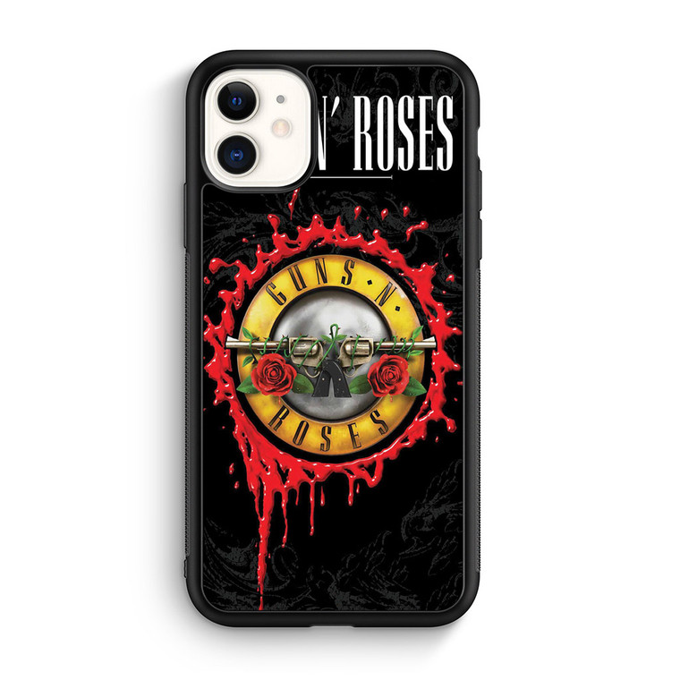 Guns N Roses Cover iPhone 11/11 Pro/11 Pro Max Case Maydistore