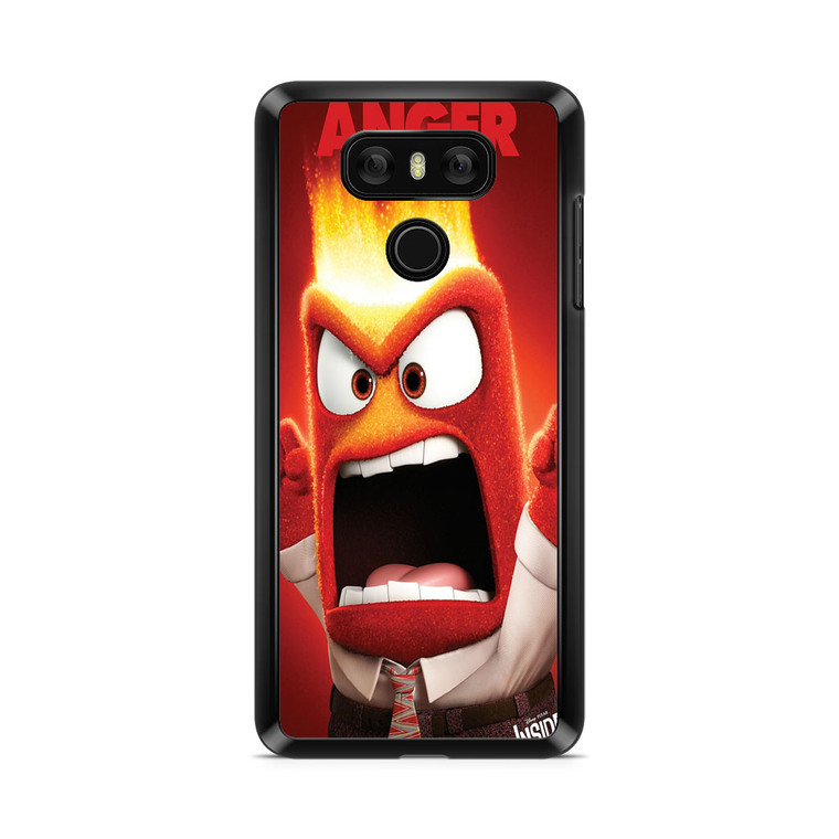 Anger From Inside Out Quotes LG G6 Case