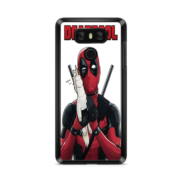 Deadpool Comedy With Unicorn LG G6 Case