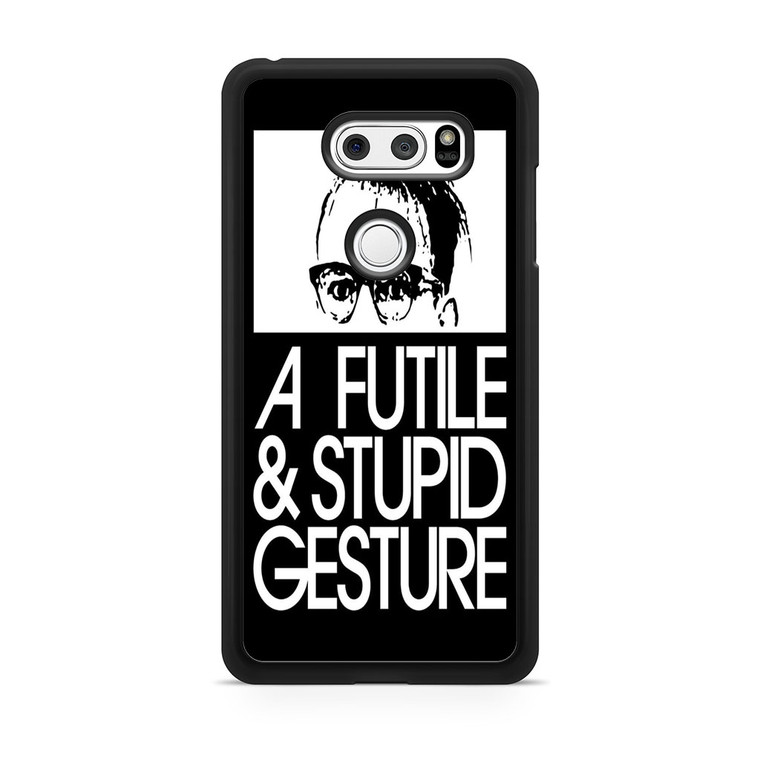 A Futile And Stupid Gesture Movie LG V30 Case