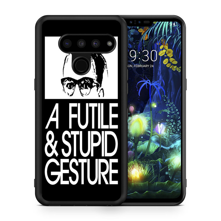A Futile And Stupid Gesture Movie LG V50 thinq Case