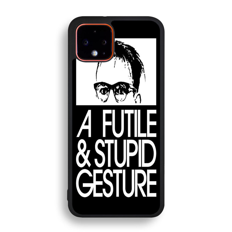 A Futile And Stupid Gesture Movie Pixel 4/ 4XL Case