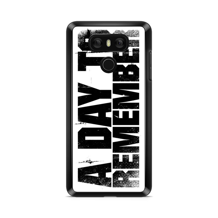 A Day To Remember LG G6 Case