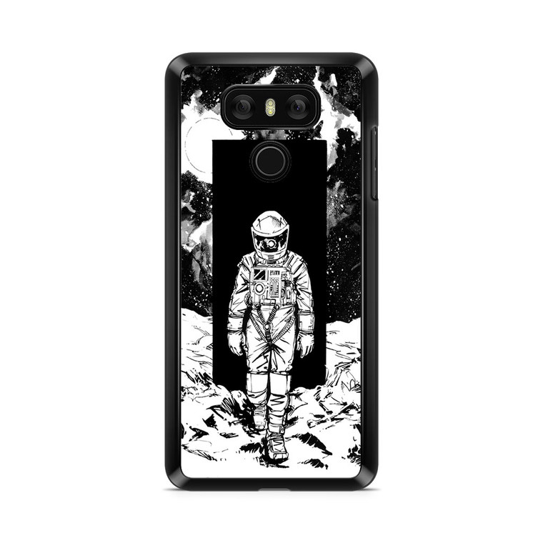 A Space Odyssey 2001 Drawing LG G6 Case