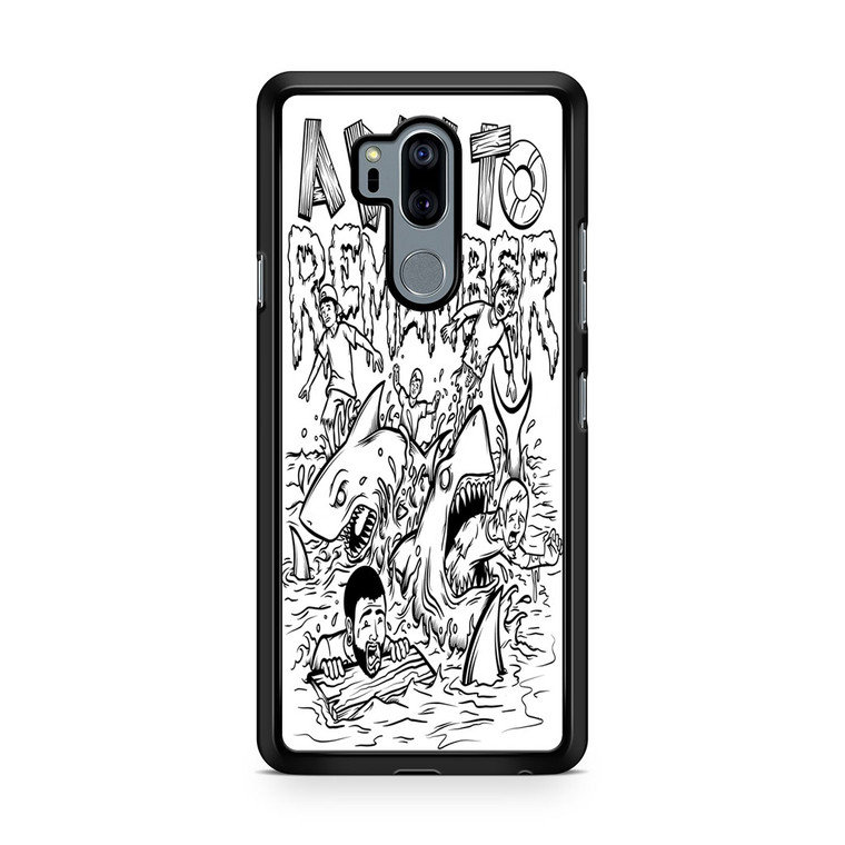 A Day To Remember Shark Week LG G7 thinq Case
