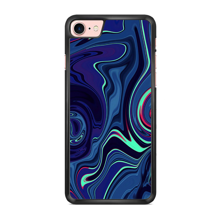Abstract Color Paint Blue iPhone 7/ 7 Plus Case