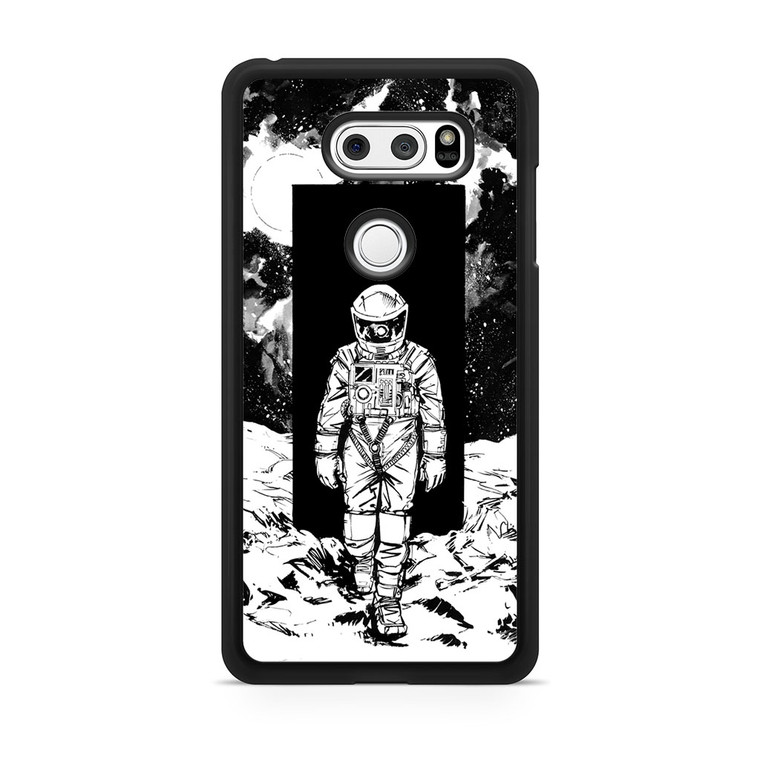 A Space Odyssey 2001 Drawing LG V30 Case