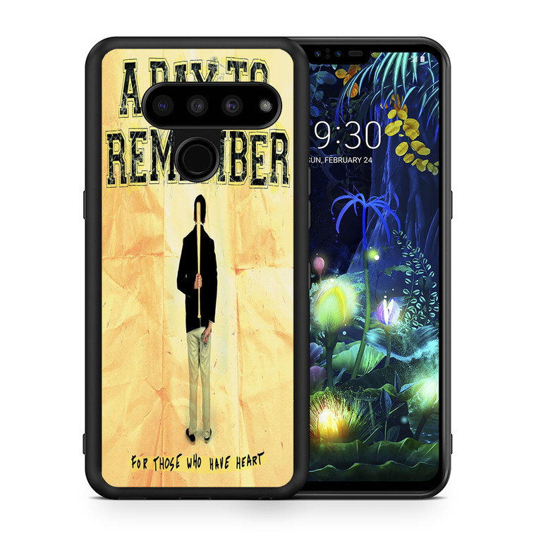 A Day To Remember For Those Who Have Heart LG V50 thinq Case