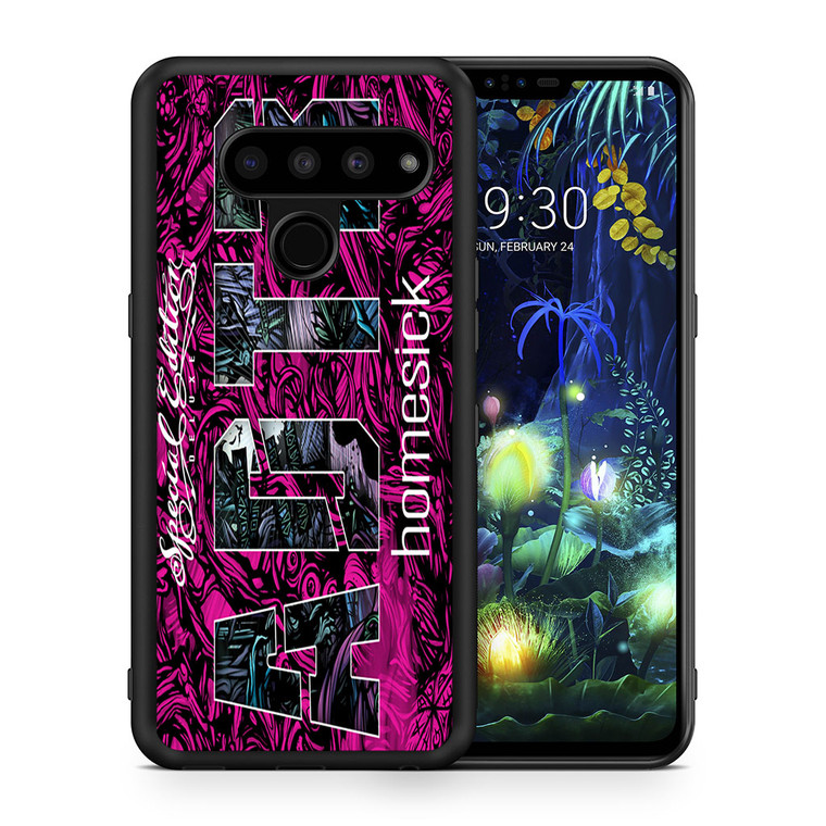 A Day To Remember Homesick Deluxe Edition Album LG V50 thinq Case