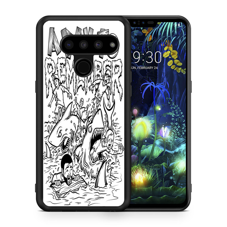 A Day To Remember Shark Week LG V50 thinq Case