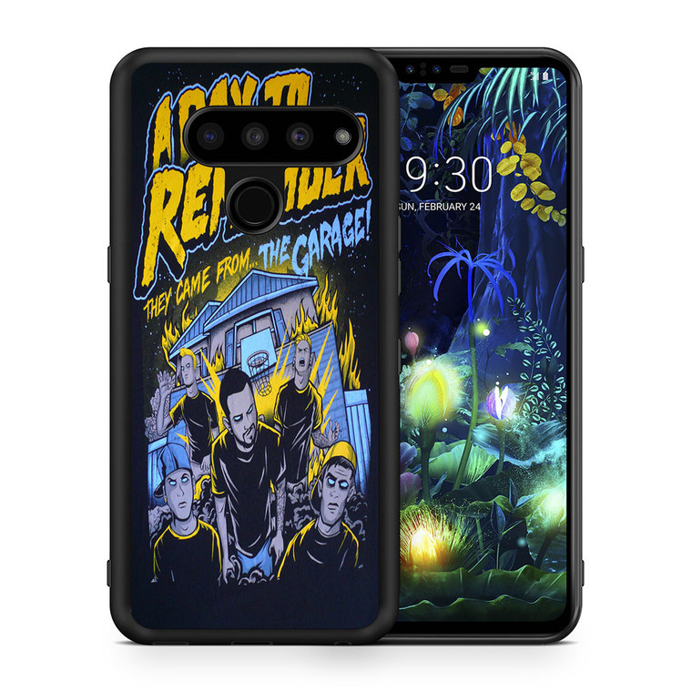 A Day To Remember They Came From The Garage LG V50 thinq Case