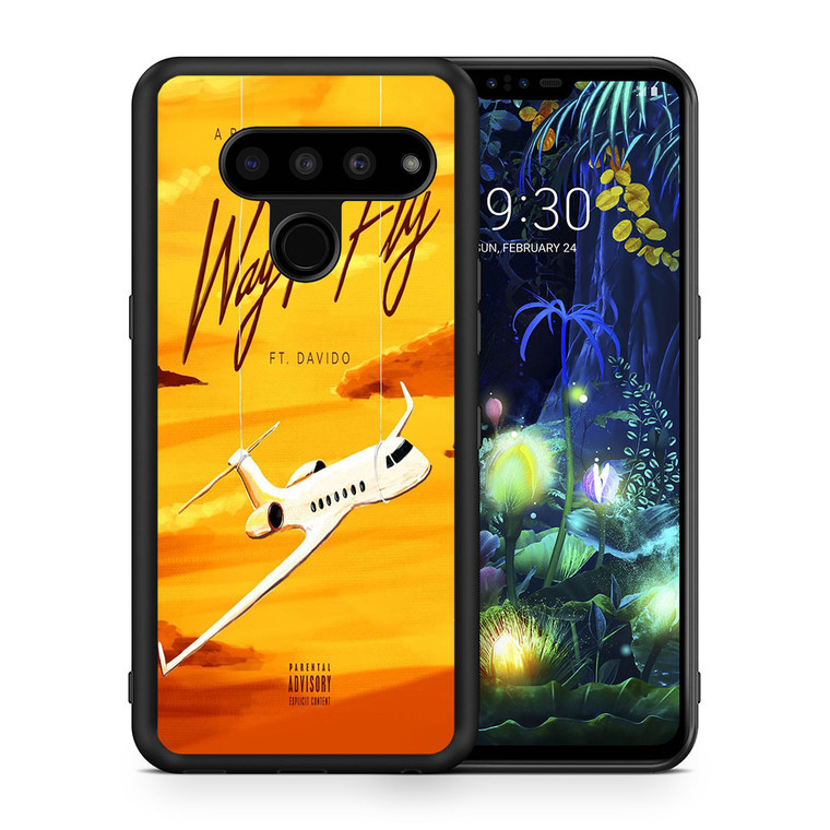 A Boogie Wit Da Hoodie Feat Davido Way Too Fly LG V50 thinq Case