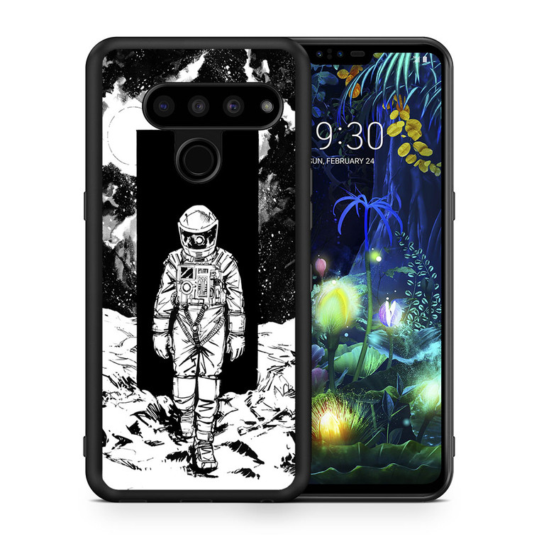 A Space Odyssey 2001 Drawing LG V50 thinq Case