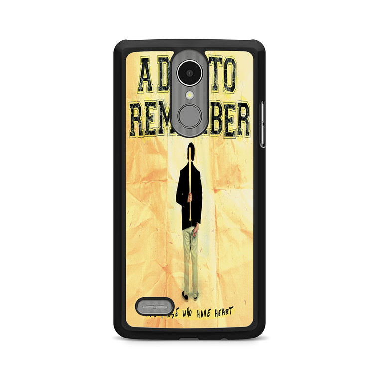 A Day To Remember For Those Who Have Heart LG K8 Case