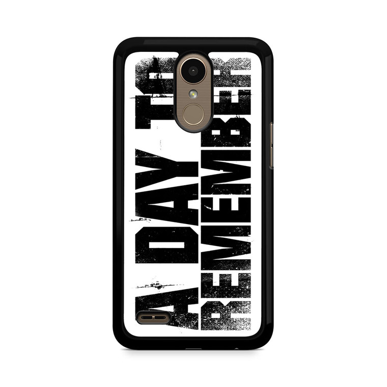 A Day To Remember LG K10 2017 / 2018 Case