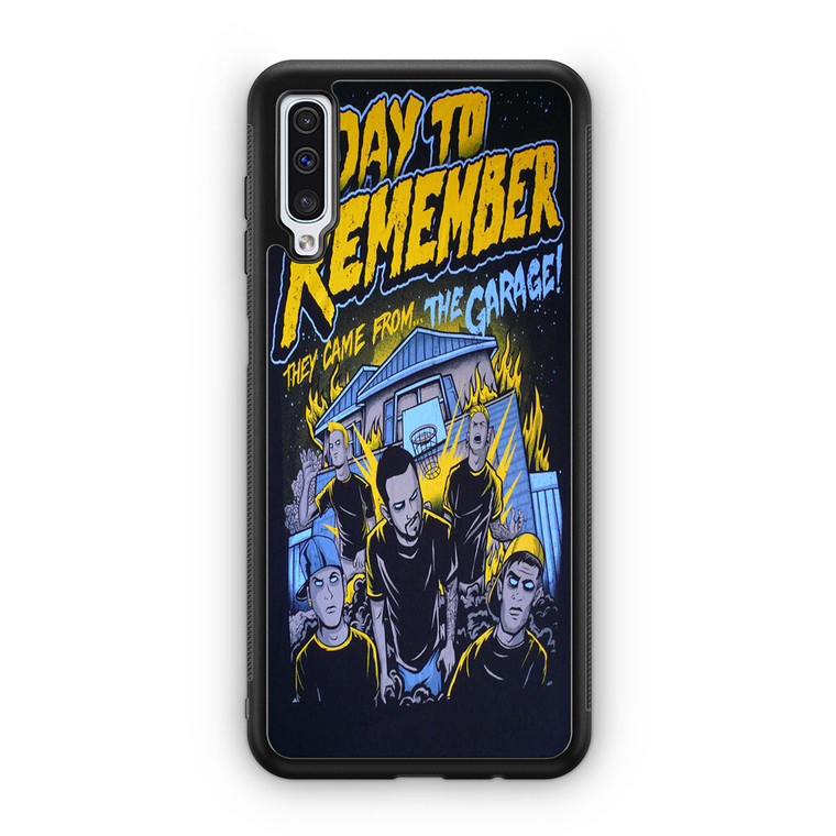 A Day To Remember They Came From The Garage Samsung Galaxy A50 Case