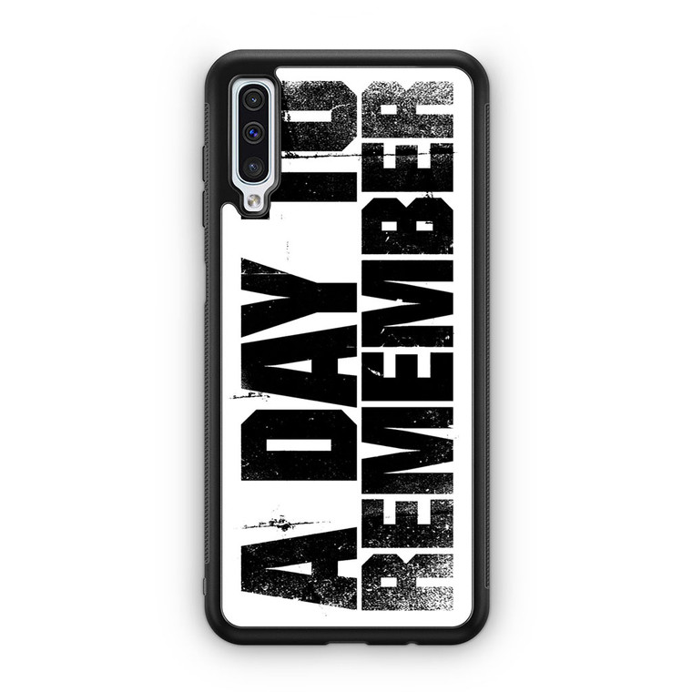 A Day To Remember Samsung Galaxy A50 Case