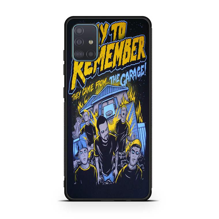 A Day To Remember They Came From The Garage Samsung Galaxy A51 Case