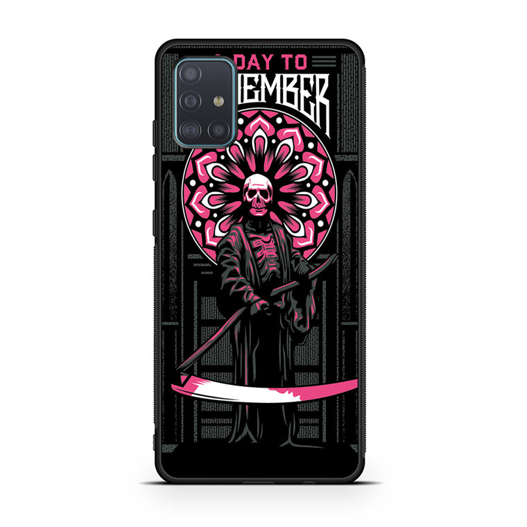 A Day To Remember Tour Samsung Galaxy A51 Case