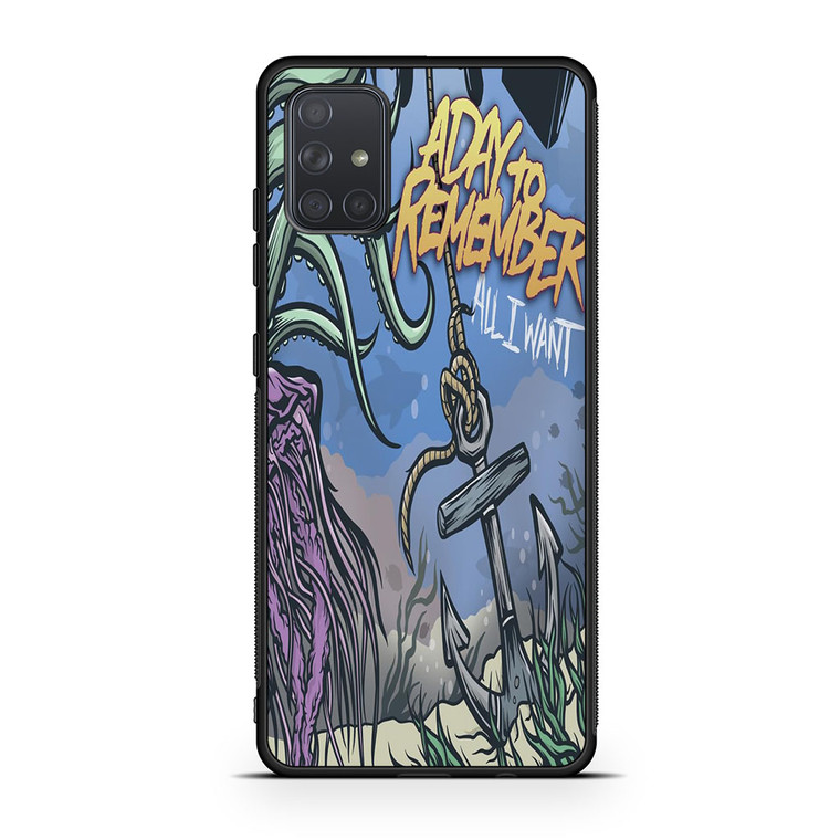 A Day To Remember All I Want Samsung Galaxy A71 Case