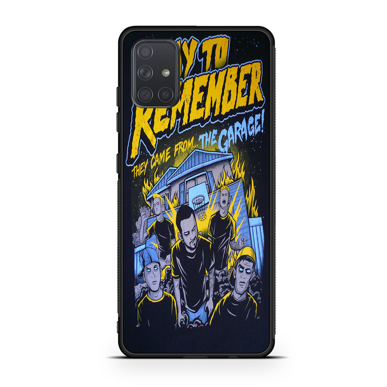 A Day To Remember They Came From The Garage Samsung Galaxy A71 Case