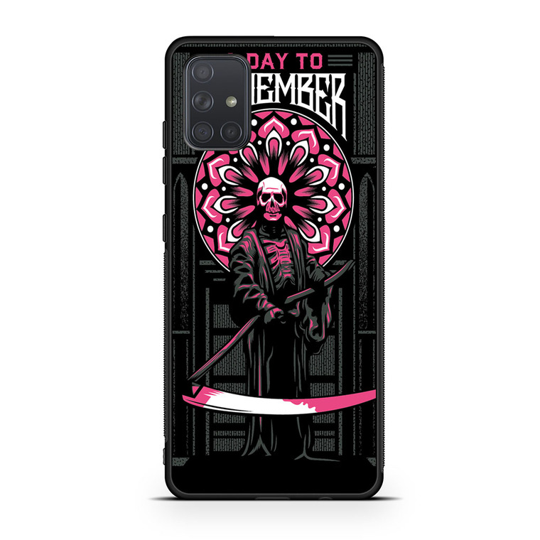 A Day To Remember Tour Samsung Galaxy A71 Case