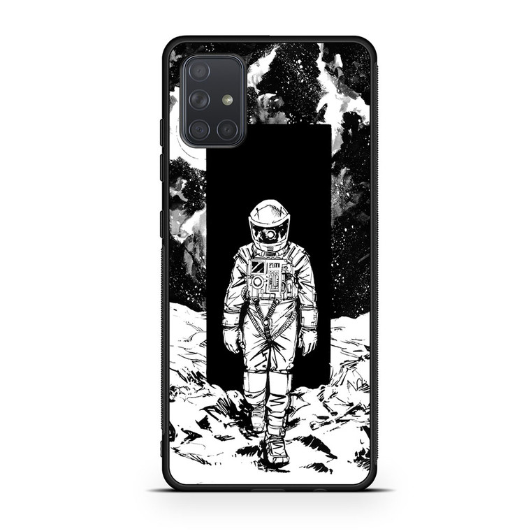A Space Odyssey 2001 Drawing Samsung Galaxy A71 Case