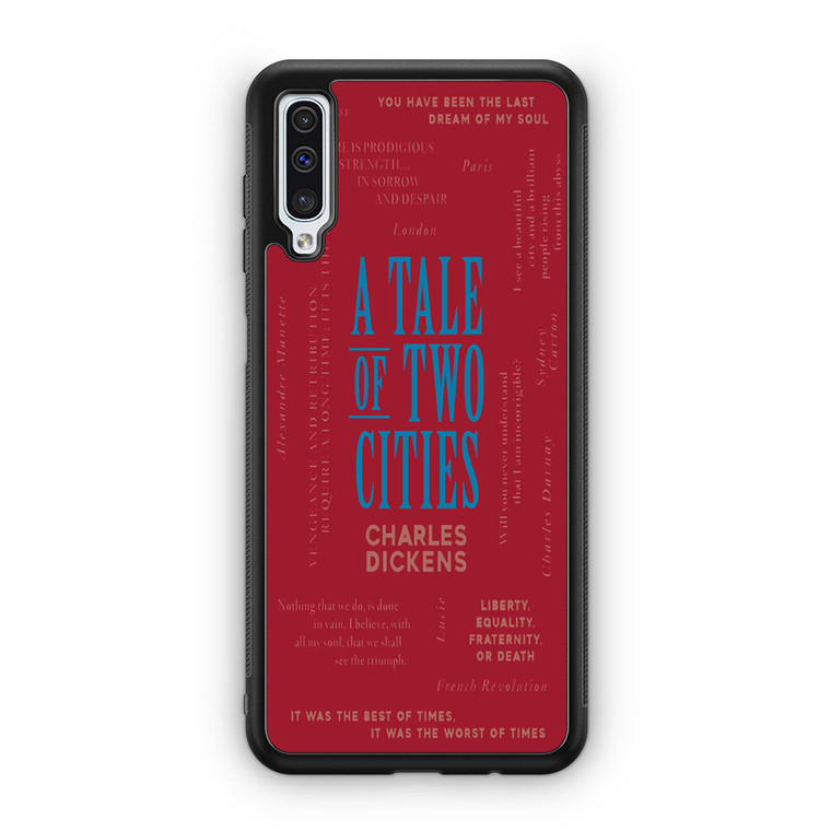 A Tale Of Two Cities By Charles Dickens Samsung Galaxy A50 Case