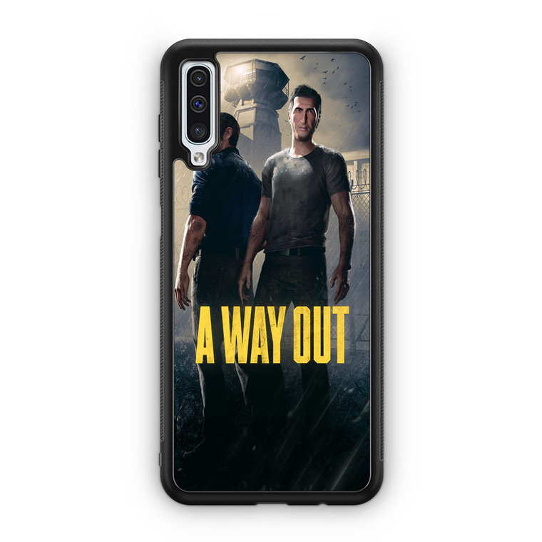 A Way Out Games Samsung Galaxy A50 Case