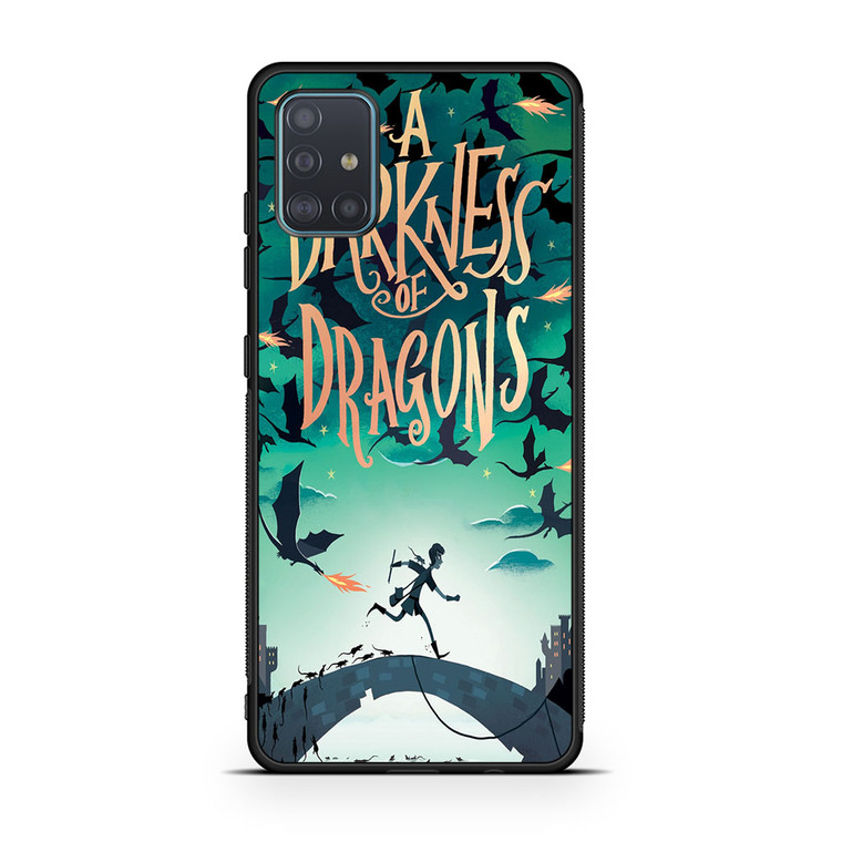 A Darkness Of Dragons Samsung Galaxy A51 Case