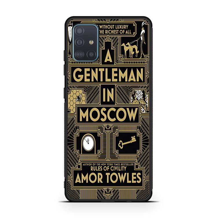 A Gentleman In Moscow Samsung Galaxy A51 Case