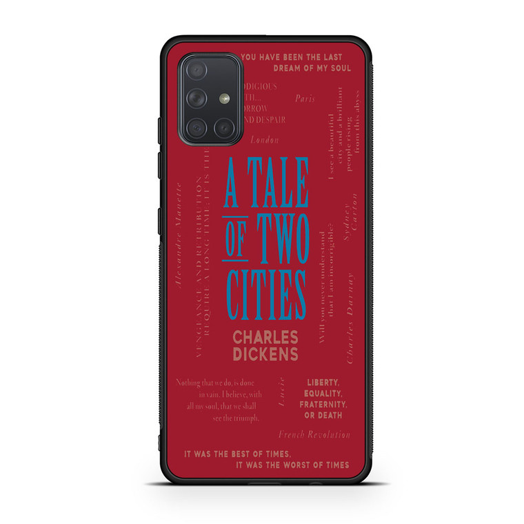 A Tale Of Two Cities By Charles Dickens Samsung Galaxy A71 Case