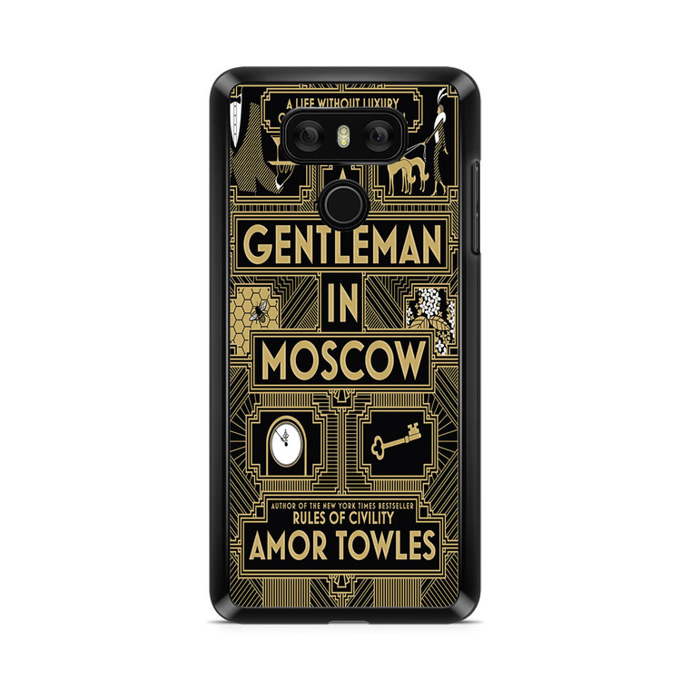 A Gentleman In Moscow LG G6 Case