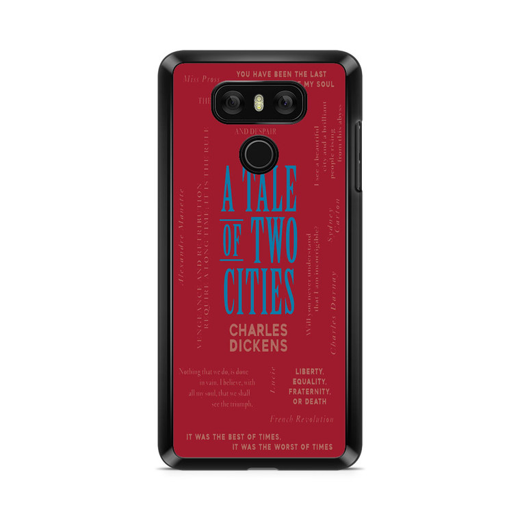 A Tale Of Two Cities By Charles Dickens LG G6 Case
