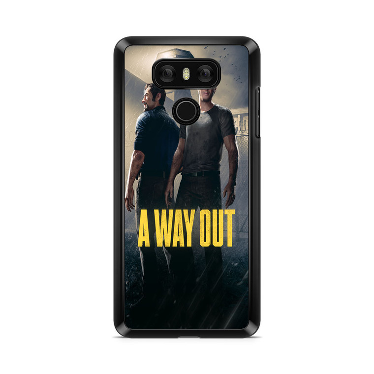 A Way Out Games LG G6 Case