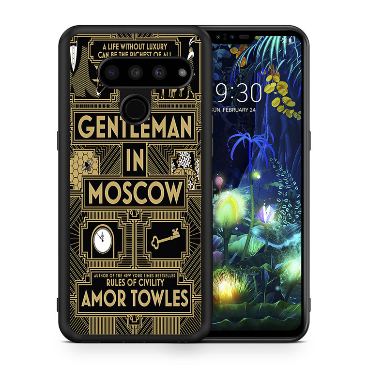 A Gentleman In Moscow LG V50 thinq Case