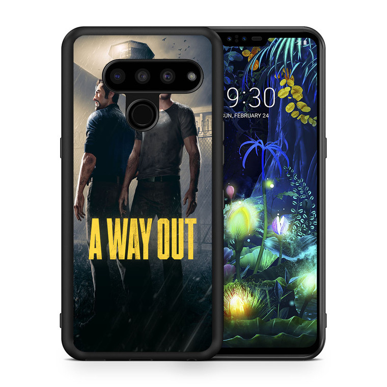 A Way Out Games LG V50 thinq Case