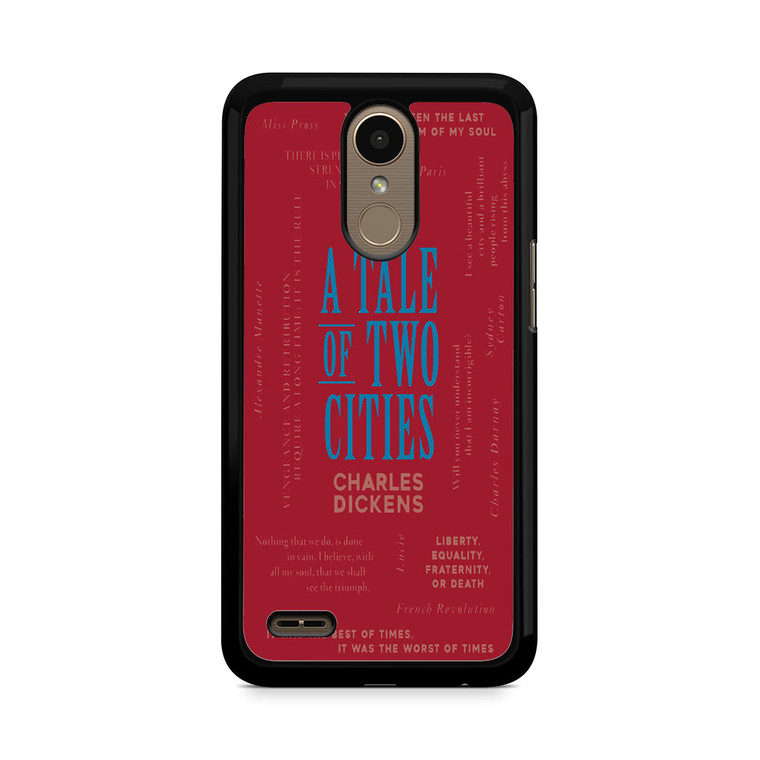 A Tale Of Two Cities By Charles Dickens LG K10 2017 / 2018 Case