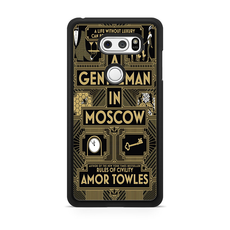 A Gentleman In Moscow LG V30 Case