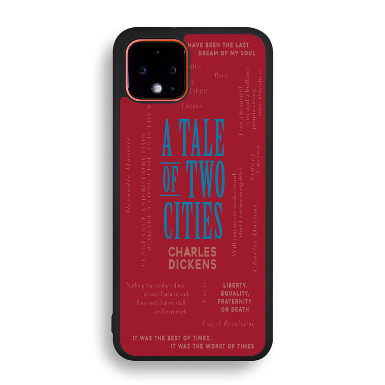 A Tale Of Two Cities By Charles Dickens Pixel 4/ 4XL Case