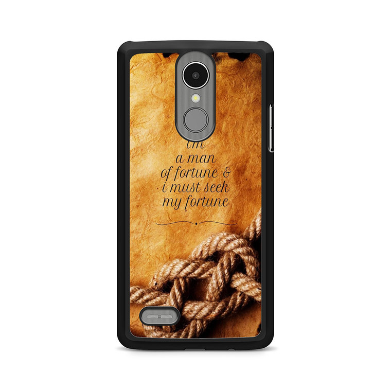 Uncharted 4 Quotes LG K8 Case