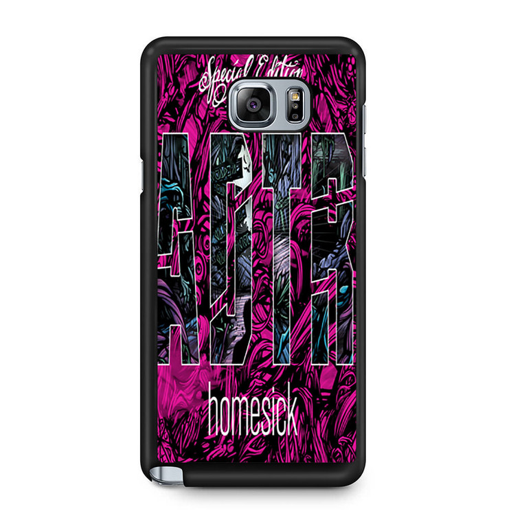 A Day To Remember Homesick Deluxe Edition Samsung Galaxy Note 5 Case