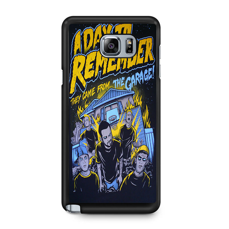 A Day To Remember They Came From The Garage Samsung Galaxy Note 5 Case
